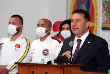 Başbakan Saner:Spor yapan gençlerimizi kutluyorum