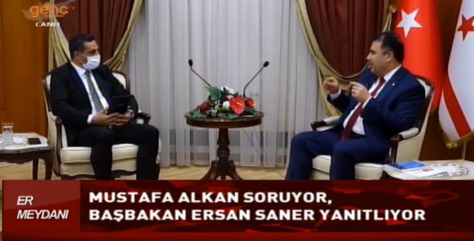 Başbakan Ersan Saner: Henüz tünelin dışına çıkamadık sadece ışığı gördük