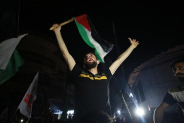 Gazze ve Batı Şeria'daki Filistinli gençlerden ateşkes sevinci