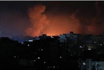 İsrail Gazze Şeridi'nde bakanlık binalarını bombaladı