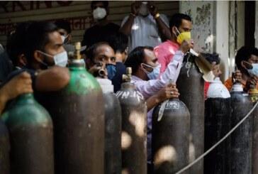 Hindistan'da korkutan tablo: Vaka sayısı 21 milyonu, ölüm sayısı 230 bini aştı