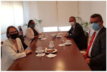 CTP Genel Başkanı Erhürman ABD Lefkoşa Büyükelçisi ile görüştü
