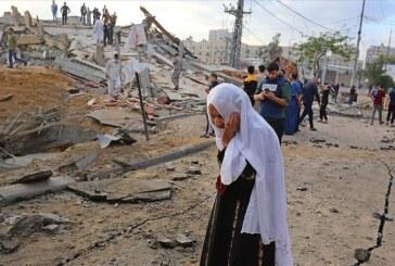 İsrail'in Filistin'e şiddeti sürüyor