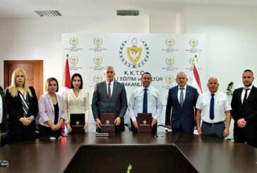 Atatürk Öğretmen Akademisi ile Hak-Sen arasında toplu iş sözleşmesi imzalandı