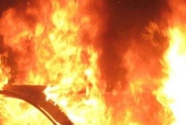 Haspolat'ta Ahmet Taşseven'e ait araç yangını soruşturması devam ediyor