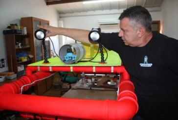 Kuzey Kıbrıs'ta bir robot üreticisi…