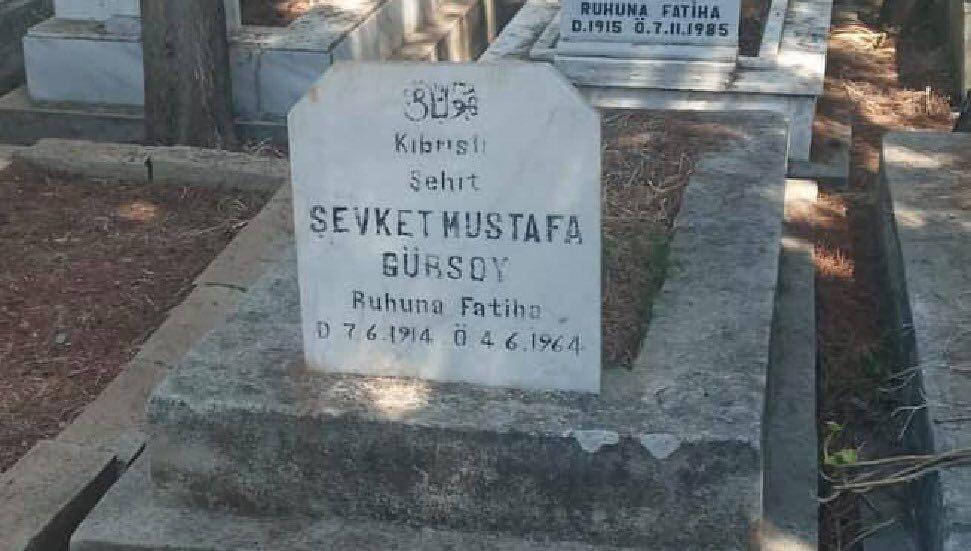Şehit Şevket Mustafa Gürsoy'un naaşı bugün Lefkoşa'da defnedilecek