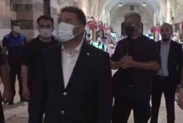 Başbakan Ersan Saner, Payas Belediyesi'ni ziyaret etti
