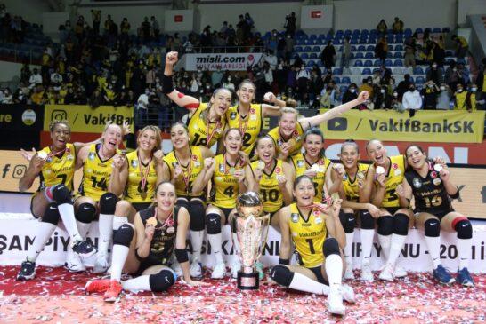 Vakıfbank 4. kez kupanın sahibi