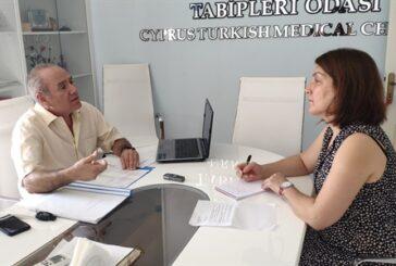 KKTC'nin tek adli tıp uzmanı Dr. İdris Deniz, sıra dışı mesleğini anlattı