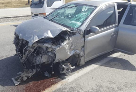 KKTC'de  11-17 Ekim tarihlerinde meydana gelen 64 trafik kazasında 1 kişi öldü, 7 kişi yaralandı