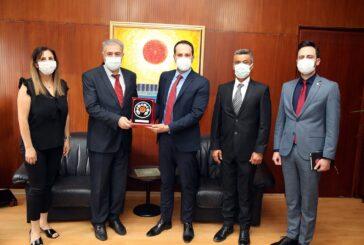 Cumhuriyet Meclisi Başkan Yardımcısı Candan Alevi Kültür Merkezi Heyetini kabul etti